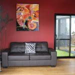 Loungeroom wall