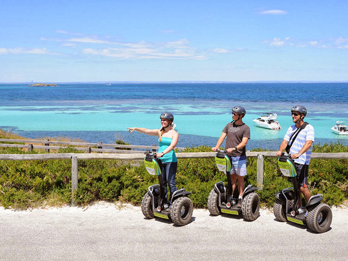 Great way to get around - hire a Segway