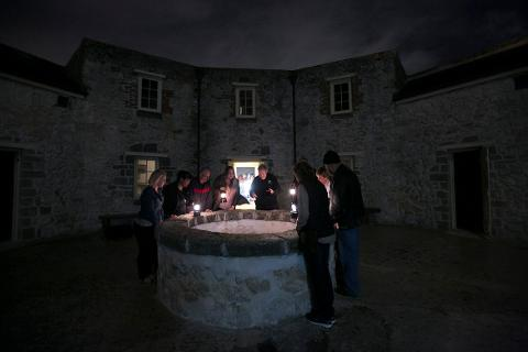 Ghostly Tram Tour is a great way to see the Round House.