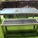 Table outside