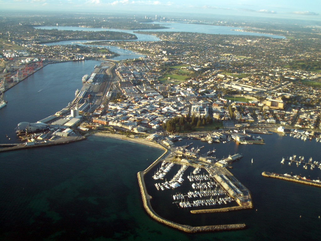 Fremantle port
