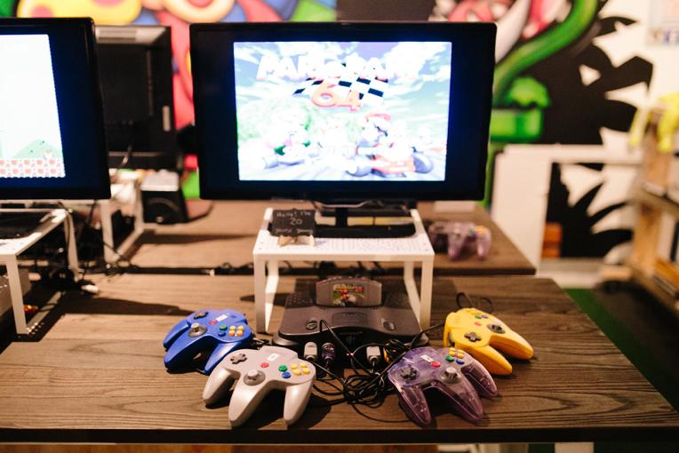 retro, video games, nostalgia box